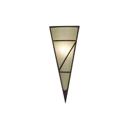 Eglo 87793 Pascal1 1 light modern wall light lime and antique brown finish (small) - Eglo from ...
