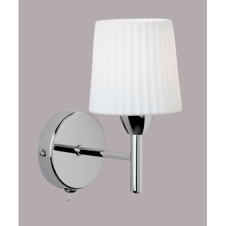 Buy Endon 91191 Switched Wall Light Endon 1 Light Chrome Wall Light