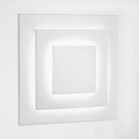 Low Energy Bulb Wall Lights : Endon 91289 1 Light Modern Low Energy Wall Light White