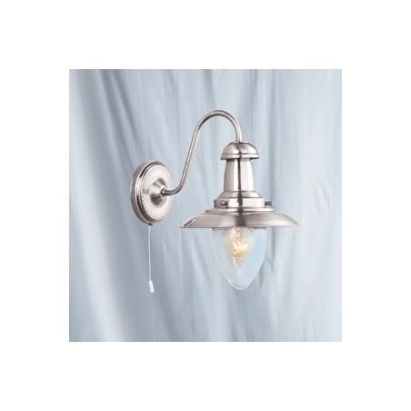 Searchlight 5331-1SS Fisherman 3 Light Satin Silver Wall Light