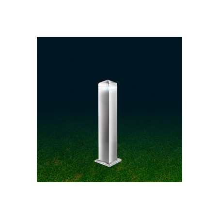 Searchlight 7202 450 outdoor led post lamp satin silver ip44 searchlight 7202 450 led outdoor lights 16 light modern outdoor post lamp satin silver finish aloadofball Gallery