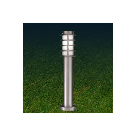 Searchlight 8027 450 1 Light Outdoor Low Energy Post Lamp Stainless Steel