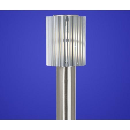 Eglo 89575 Maronello 1 Light Outdoor Low Energy Floor Lamp Stainless Steel Al