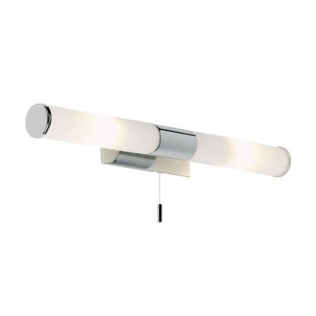Endon EL 257 WB Romford 2 Light Switched Bathroom Wall Polished Chrome IP44
