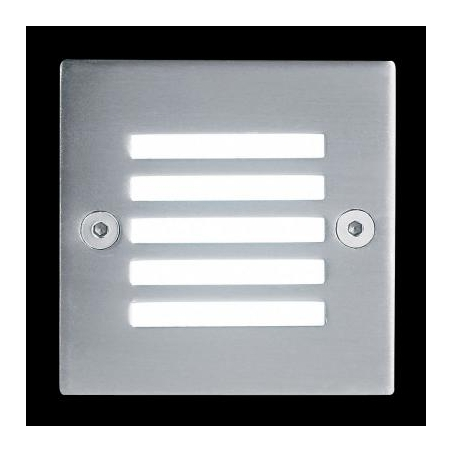 Endon Endon EL-10030 small LED recessed wall/plinth light IP20 rated - Endon from Lighting by ...