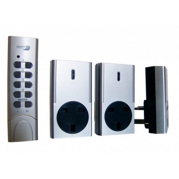 Remote Control Socket 3 Pack Kit