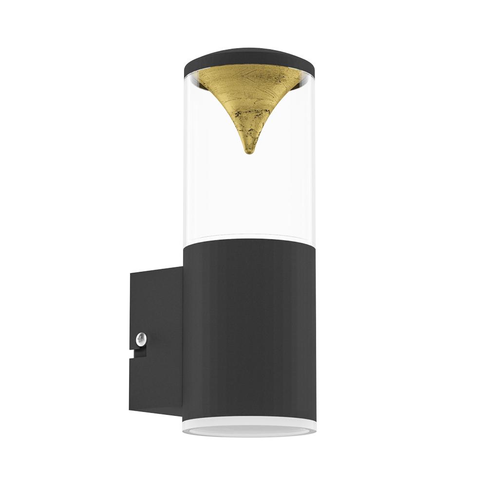 Eglo 94817 Penalva1 1 Light LED IP44 Wall Black Stainless Steel