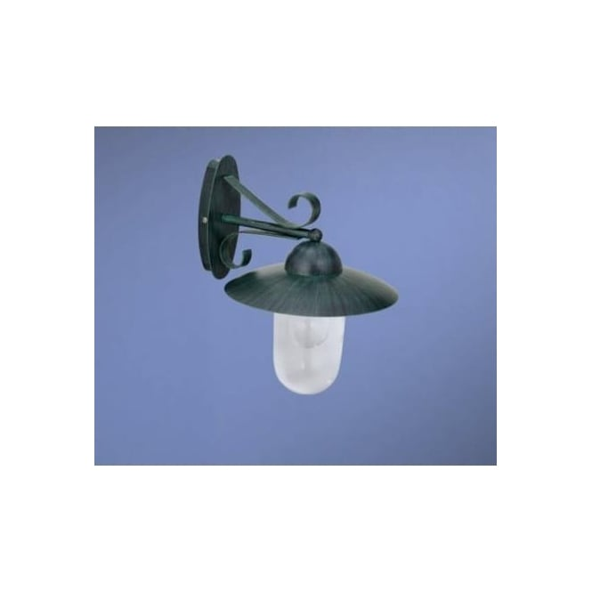 Green Outside Wall Lights : Eglo 83591 Milton 1 light outdoor wall light antique green finish IP44 rated - Eglo from ...
