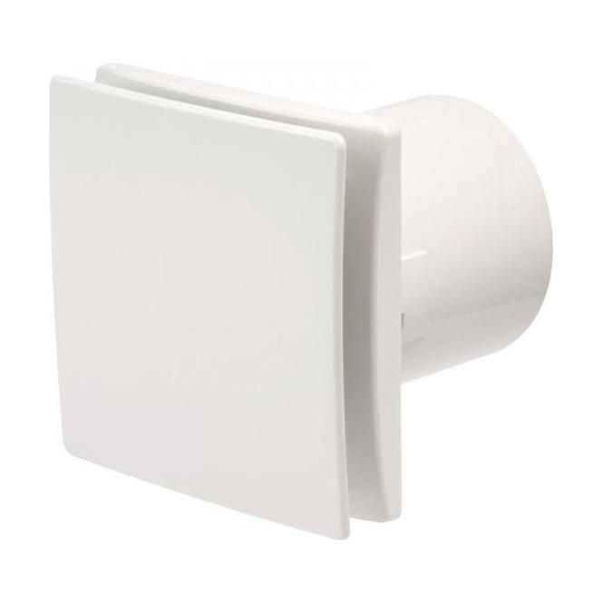 Manrose MDECO100TW Designer Bathroom Shower Toilet Timer Extractor Fan 100mm White Finish