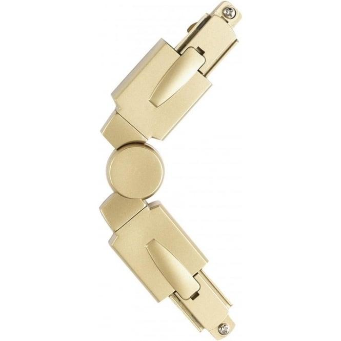 Endon EL-10103-AN Track Flexi Connector Antique Brass
