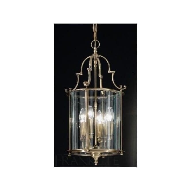 Franklite LA7010/4 Montagu 4 Light Ceiling Lantern Bronze