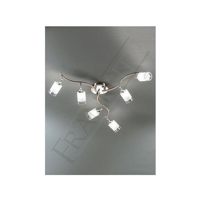 Franklite SPOT8776 Campani 6 Light Ceiling Spotlight Bronze