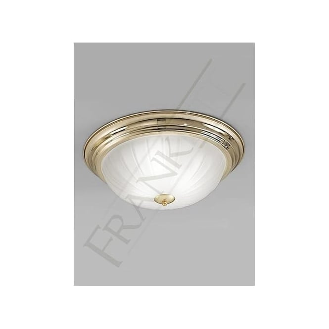 Franklite cf5640 brass ceiling light traditional flush light franklite cf5640 3 light flush ceiling light polished brass mozeypictures Image collections