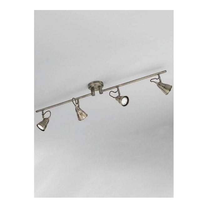Franklite SPOT8954 Rustica 4 Light Ceiling Spotlight Bronze