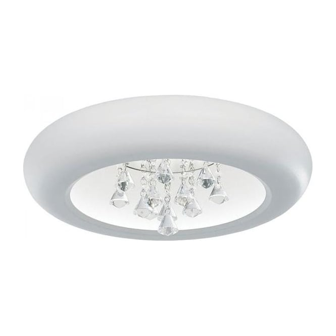 Endon KENZO-45WH Kenzo LED Ceiling Light White