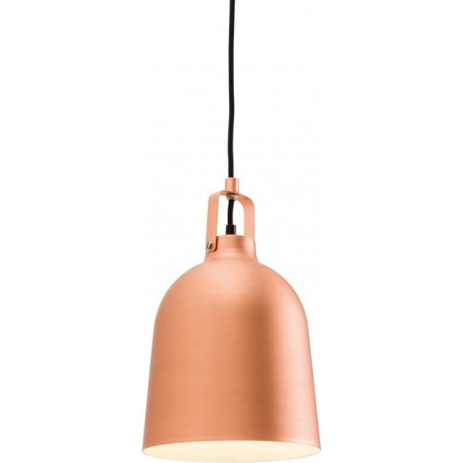 Endon 61310 Lazenby 1 Light Ceiling Pendant Matt Copper