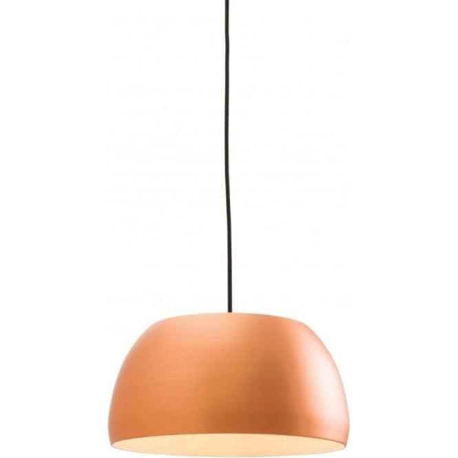 Endon 61325 Connery 1 Light Ceiling Pendant Matt Copper