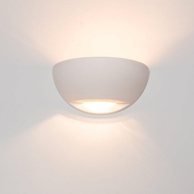 Alfie Lighting 0245RIC Richmond 1 Light Gypsum Wall Light