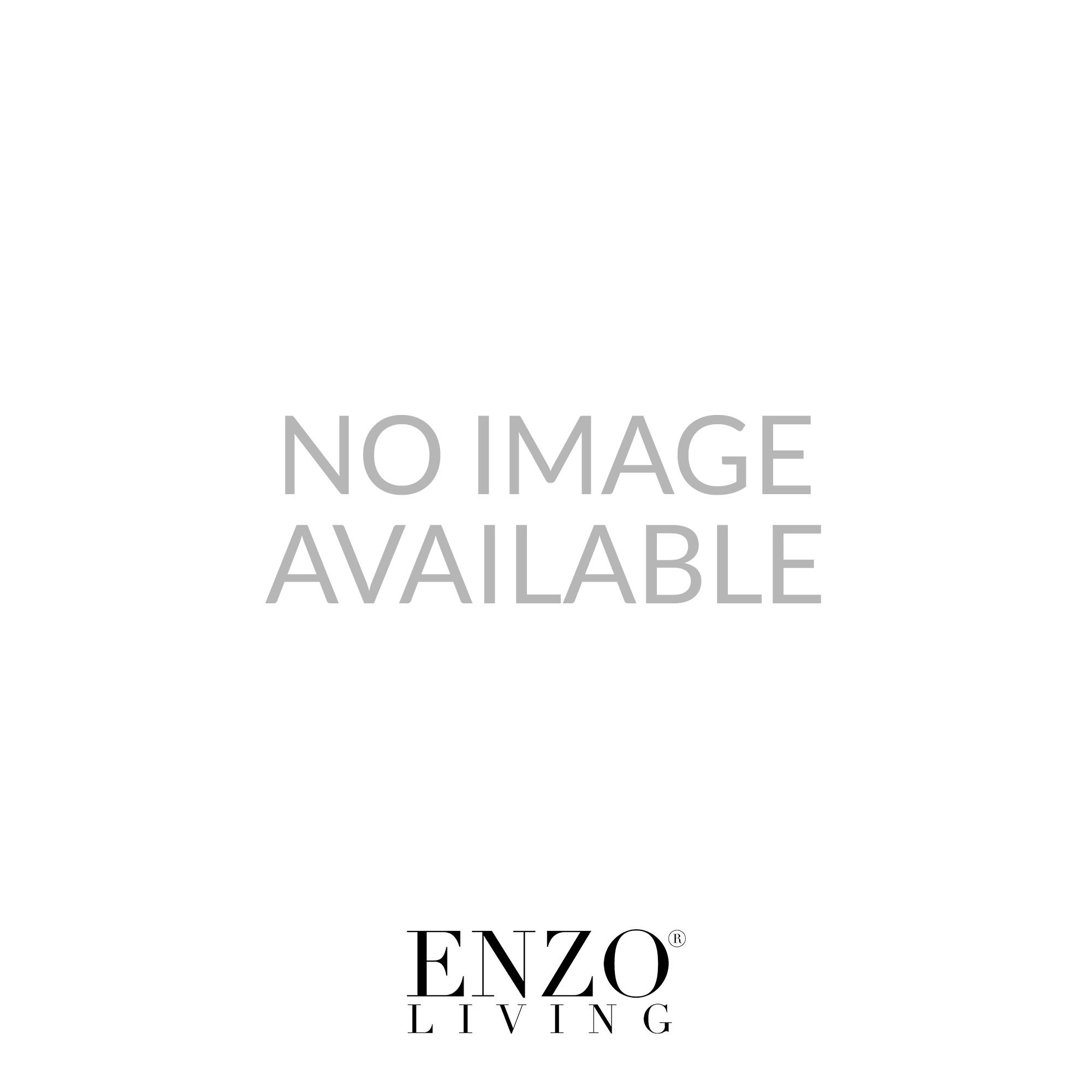 Dar ICI4850 Icicle 8 light modern flush crystal ceiling light polished chrome finish