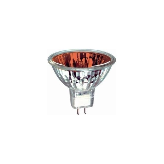 Bell 03995 50 mm Halogen Dichroic coloured 12 volt GX5-3/MR16 Red flood beam bulb