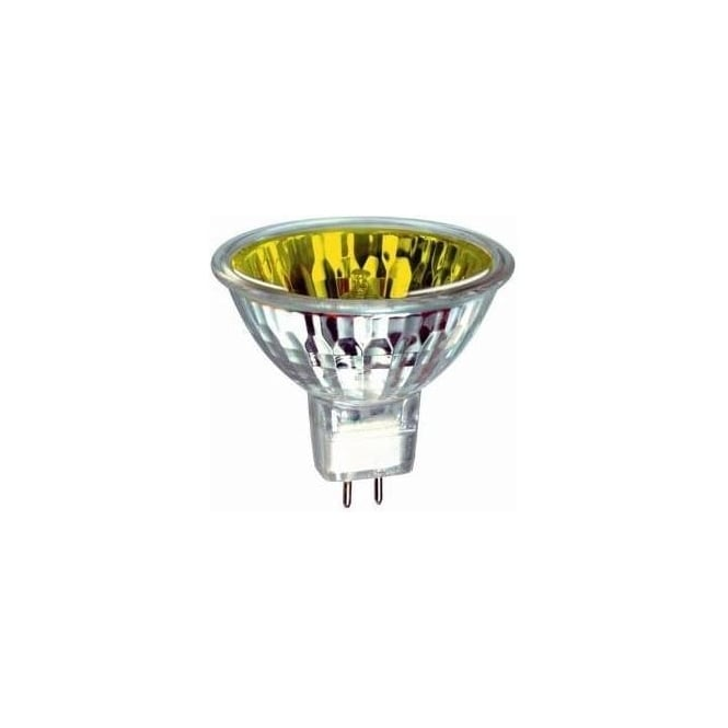 Bell 03998 50 mm Halogen Dichroic coloured 12 volt GX5-3/MR16 yellow flood beam bulb