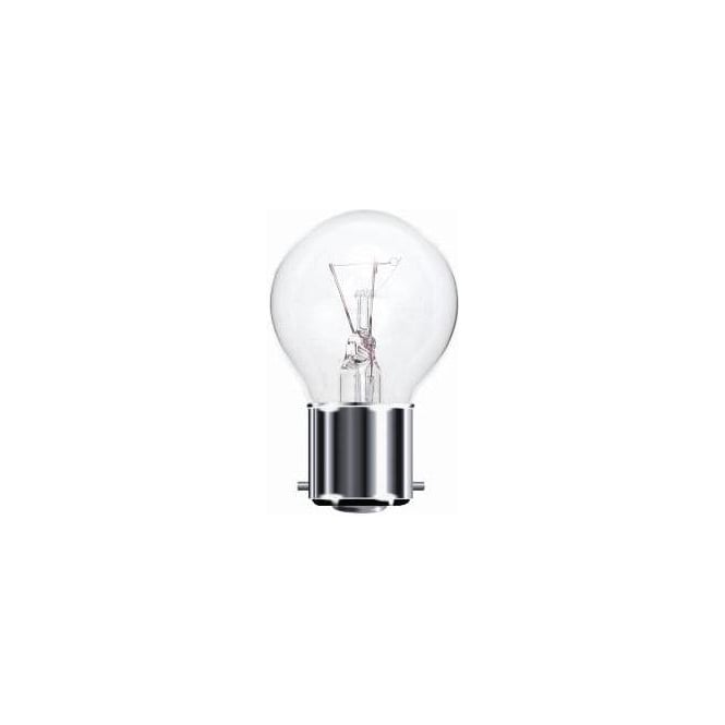 Bell BC/B22 45 mm round ball clear bulb