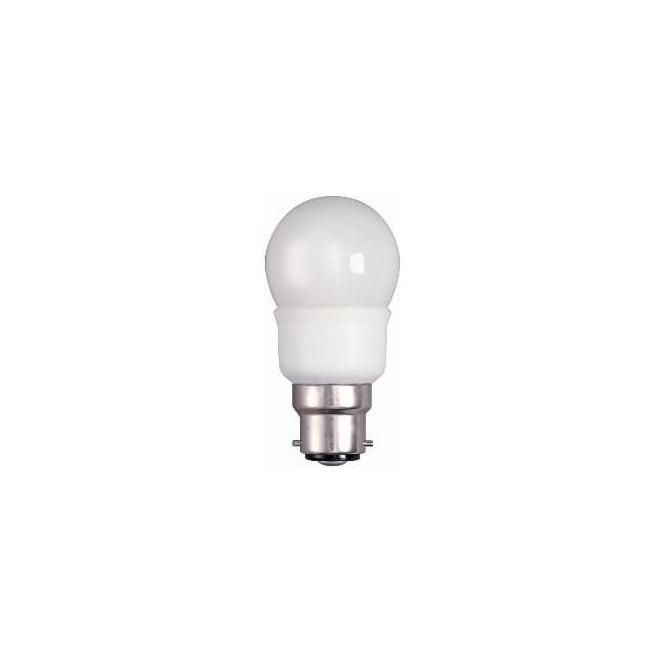 Bell CFL 45 mm mini round ball low energy 7 watt warm white bulb