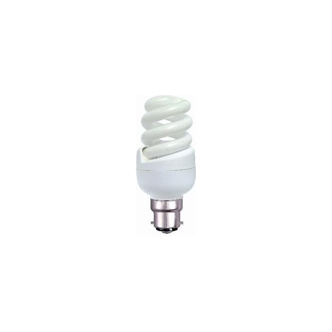Bell CFL spiral low energy BC/B22 warm white bulb
