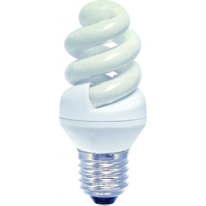 Bell CFL mini spiral low energy ES/E27 warm white bulb