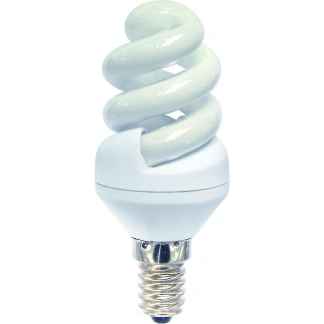 Bell CFL mini spiral low energy SES/E14 warm white bulb