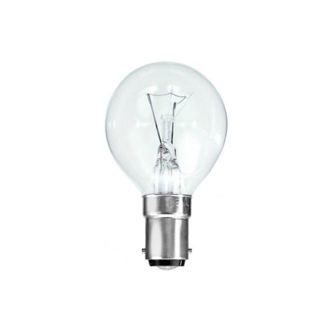 Bell SBC/B15 45 mm round ball clear bulb