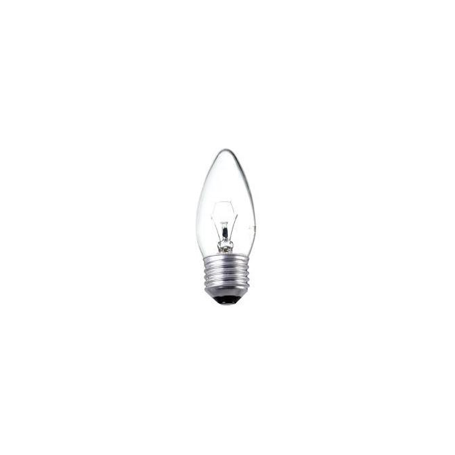 Bell ES/E27 35 mm plain candle clear bulb
