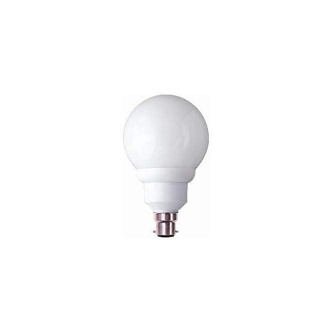Bell 00740 CFL globe 90MM low energy 15 watt BC/B22 warm white bulb