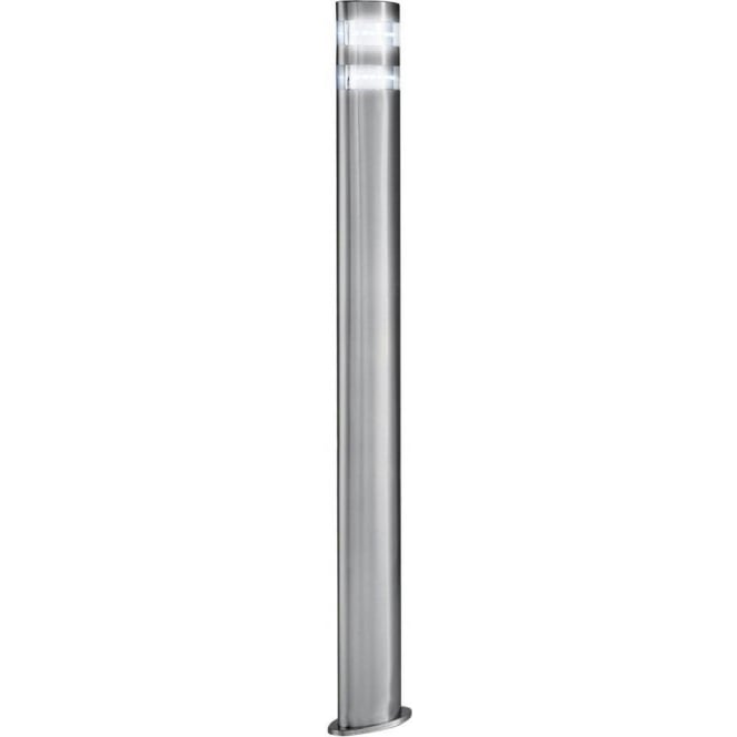 Searchlight 5304 900 outdoor led post lamp satin silver ip44 searchlight 5304 900 led outdoor lights 24 light modern outdoor post lamp satin silver finish aloadofball Gallery