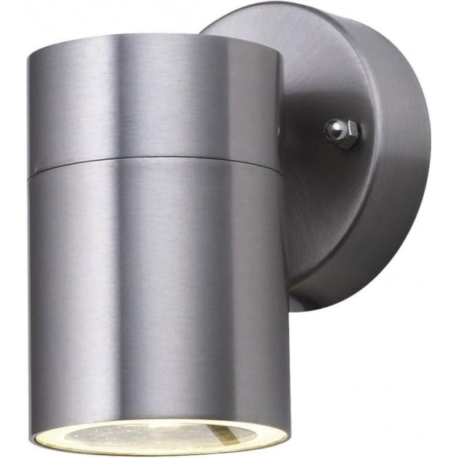 Searchlight 5008-1 Park Lane 1 Light Outdoor & Garden Wall Light Stainless Steel Polycarbonate Diffuser IP44