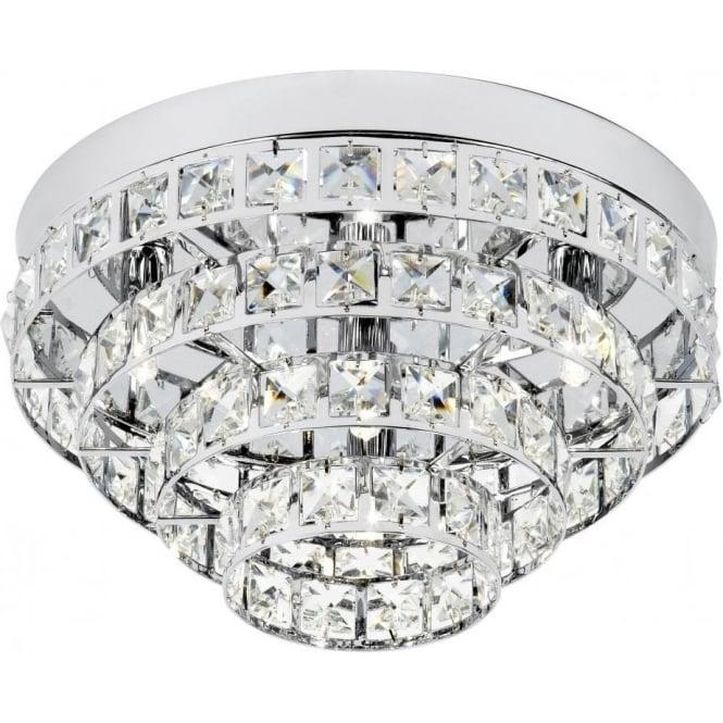 Endon MOTOWN-4CH Motown 4 Light Ceiling Light Chrome