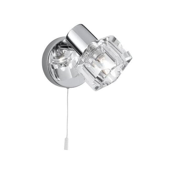 Searchlight 3761CC Triton 1 Light Wall Spotlight Polished Chrome