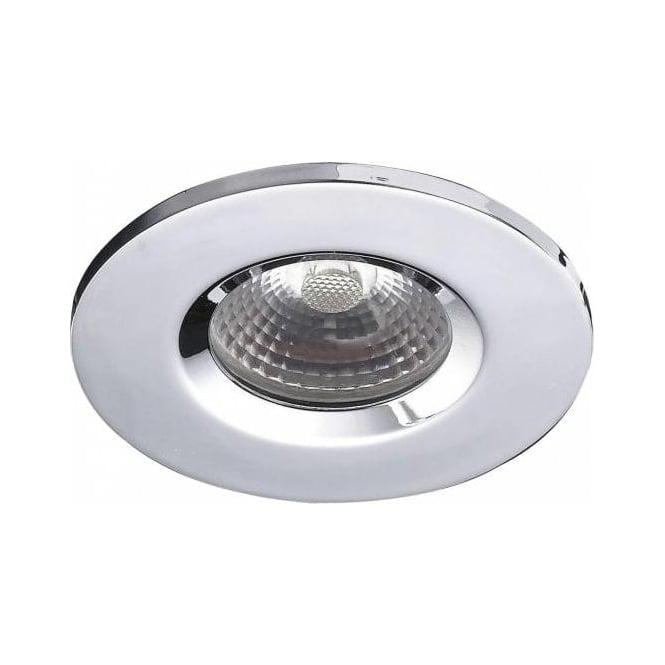 Dar VEG9650 Vega Fire Rated LED Bathroom IP65 Downlight Polished Chrome