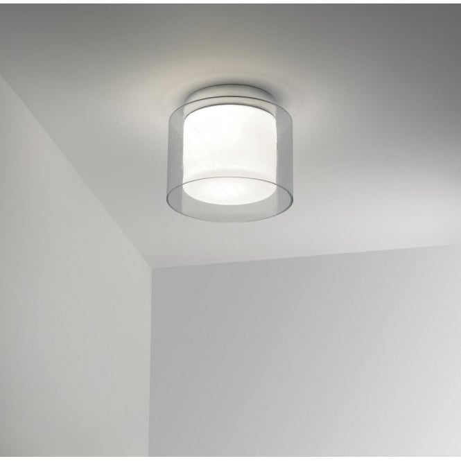Astro 0963 Arezzo IP44 1 Light Ceiling Light Polished Chrome