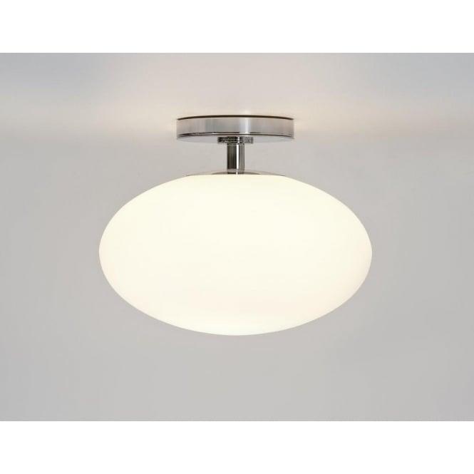 Astro 0830 Zeppo 1 Light Semi Flush Ceiling Light Polished Chrome IP44