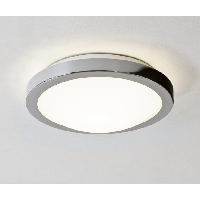 Astro 0270 Mariner 1 Light Flush Ceiling Light Polished Chrome IP44