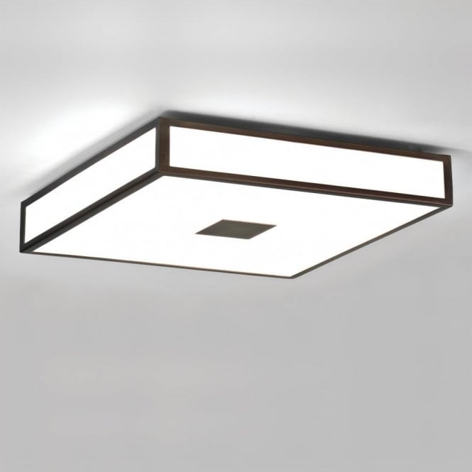 Astro 0969 Mashiko 400 4 Light Ceiling Light IP44 Painted Bronze
