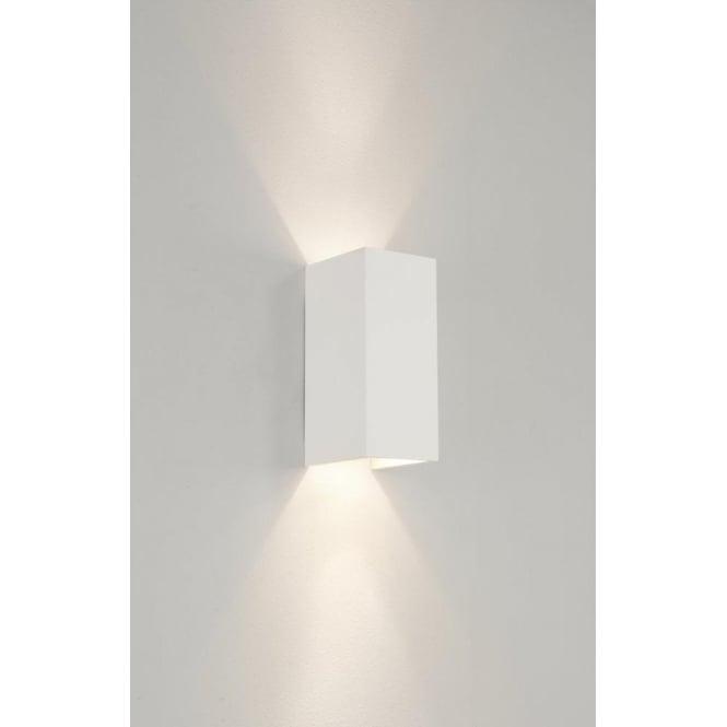 Astro 0964 Parma 210 2 Light Up/Down Wall Light Plaster