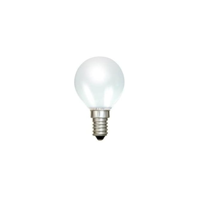 Bell SES/E14 45 mm Tough Lamp Round Ball Opal Bulb