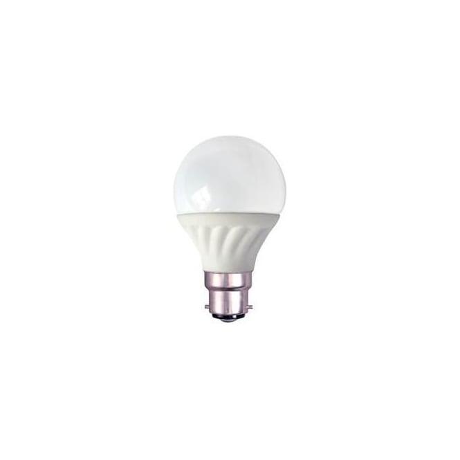 Bell Mains BC/B22 ES/E27 LED 7 Watt GLS Pearl Bulb Warm White