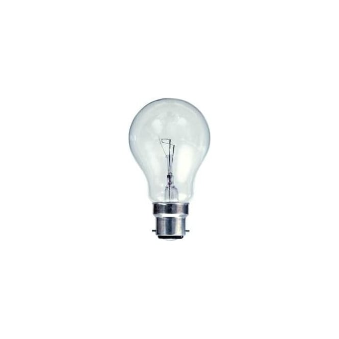 Bell BC/B22 Tough Lamp GLS Clear Bulb