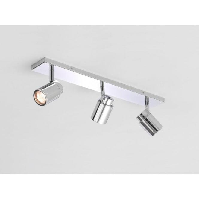 Astro 6109 Como Triple Bar 3 Light Ceiling IP44 Spotlight Polished Chrome