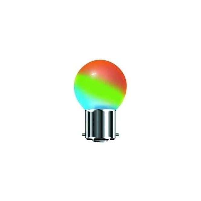 Bell 05079 Round Bulb LED 1 Watt Colour Change Bulb