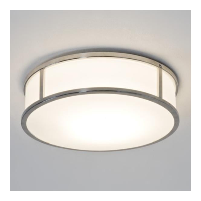 Astro 7077 Mashiko Round 300 1 Light Ceiling Light IP44 Polished Chrome