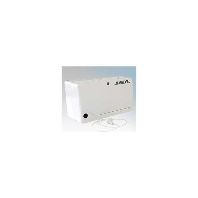 Manrose T12HP 12v Transformer for Low Voltage Fans Humidity Controlled with Timer and Pull Cord